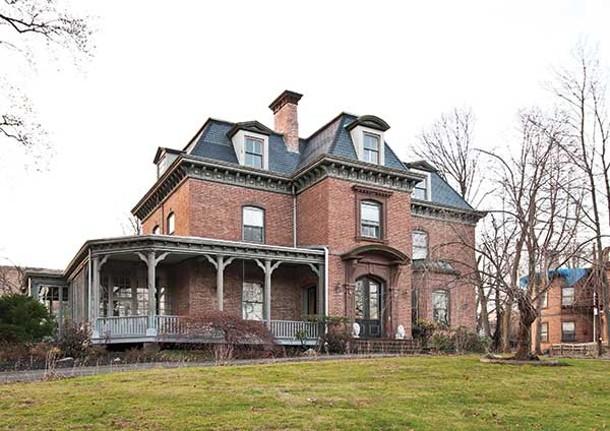 The Fullerton Mansion viewed from Grand Street. - DEBORAH DEGRAFFENREID