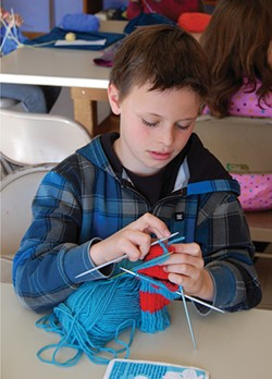 The Great Barrington Rudolf Steiner School's projects knit together the multiple intelligences. - IMAGE PROVIDED