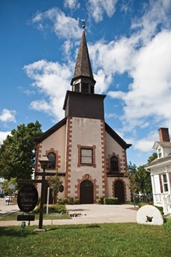 The historic Sanctuary of the First Reformed Church of Fishkill, built in 1731. - NATALIE KEYSSAR