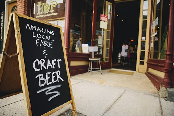 The Hop in Beacon features hundreds of craft beers. - THOMAS SMITH