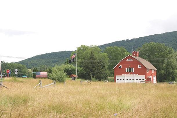 The J. H. Ketcham Hose Co. in Dover Plains