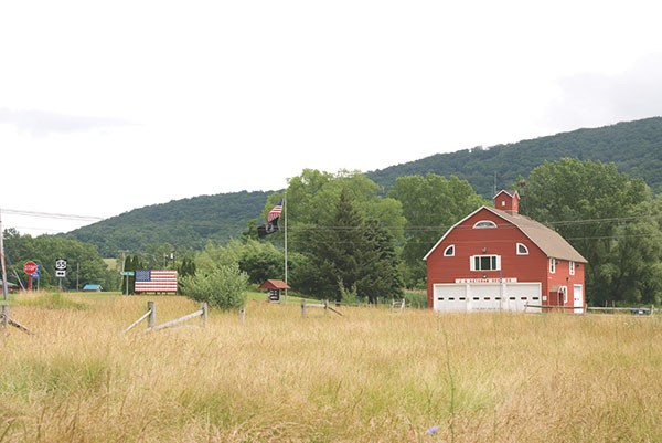 The J. H. Ketcham Hose Co. in Dover Plains