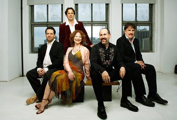 The Klezmatics, (l-r): Frank London, Lisa Gutkin, Lorin Sklamberg, Matt Darriau, Paul Morrissett. - JOSHUA KESSLER