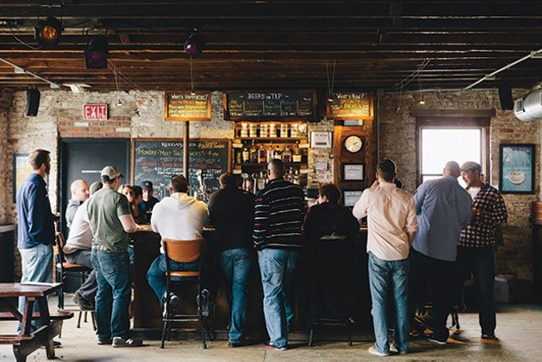 The Little Beer Bus recently made a tour stop at Keegan Ales in Kingston. - THOMAS SMITH