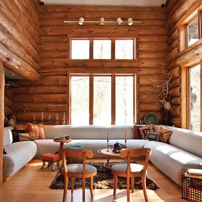 Allan Skriloff's Log Cabin
