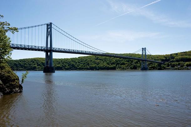 The Mid-Hudson Bridge spans the Hudson River between Poughkeepsie and Highland. - DAVID CUNNINGHAM