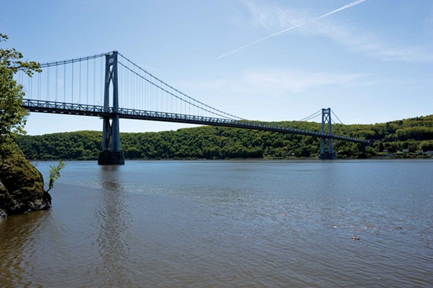 The Mid-Hudson Bridge spans the Hudson River between Poughkeepsie and Highland. - DAVID CUNNINGHAM