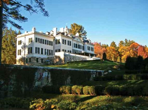 The Mount, the estate of author Edith Wharton, in Lenox, Massachusetts, is open through October 31.