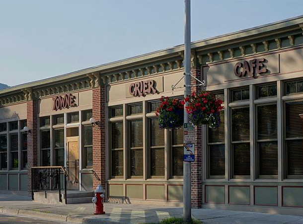 The new Towne Crier Cafe in Beacon.