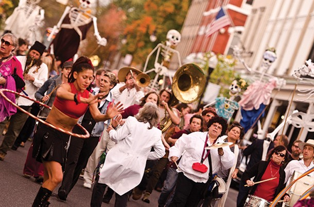 The O+ Festival parade on October 11. - ANDREW MCGREGOR