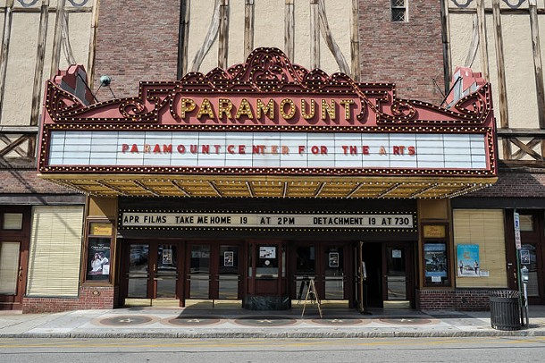 The Paramount Theatre in Peekskill. - DAVID MORRIS CUNNINGHAM