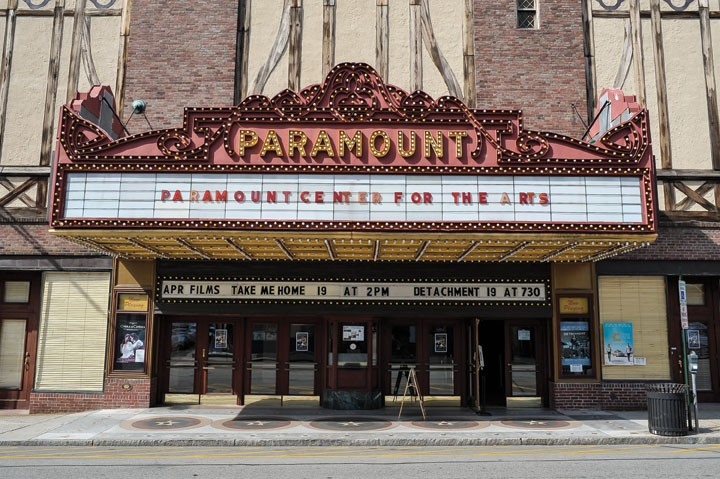 The Paramount Theatre in Peekskill. - DAVID MORRIS CUNNINGHAM
