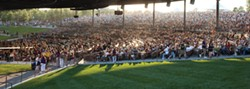 The Pavilion amphitheater at Bethel Woods.