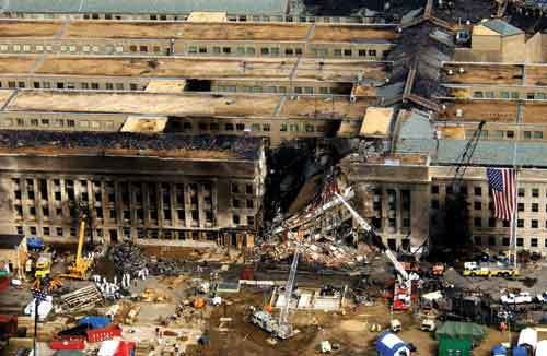 The Pentagon, September 14, 2001.