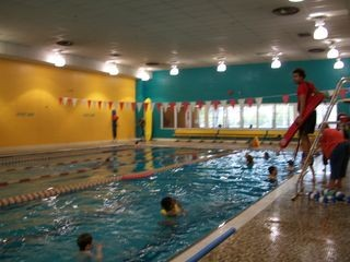 The pool at the YMCA in Kingston
