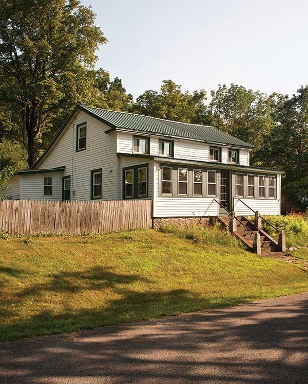 The Puryear/Carroll home on Longyear Road in Shokan. - DEBORAH DEGRAFFENREID