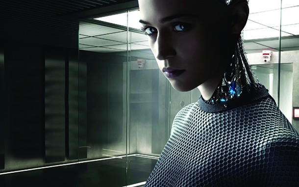 The robot Ava from Ex Machina.