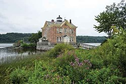 The Saugerties Lighthouse at the mouth of the Esopus Creek in Saugerties. - DAVID CUNNINGHAM