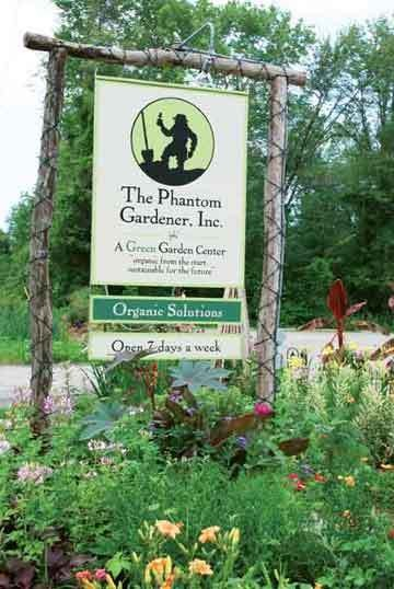 The sign outside Lazar's Garden Center in Rhinebeck. - LARRY DECKER