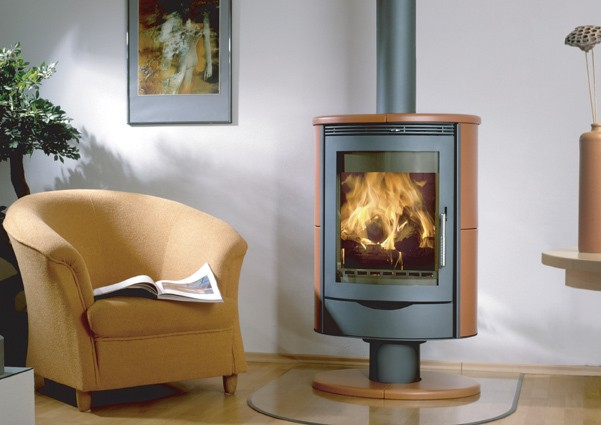 The Stromboli woodburning stove from Wittus Fire by Design.