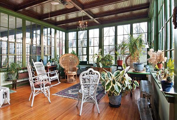 The sunroom. - DEBORAH DEGRAFFENREID