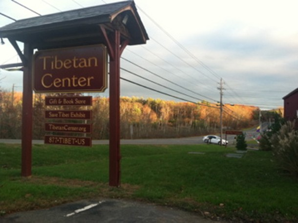 The Tibetan Center on Route 28 in Kingston. - HUDSON VALLEY GOOD STUFF