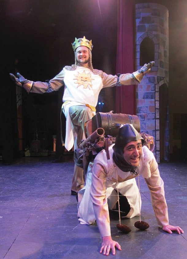 "The Woodstock Summer Repertory Season kicked off in June with Monty Python's ""Spamalot"""