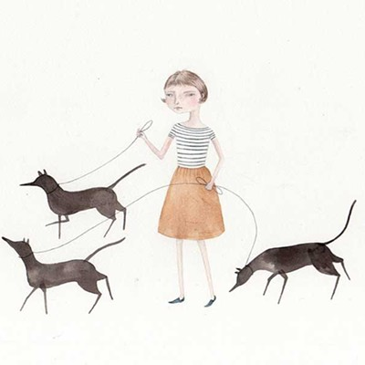 Julianna Swaney's Wistful Portraitures