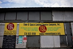 Time and Space Limited is a long-running grassroots arts organization on Columbia street in Hudson.