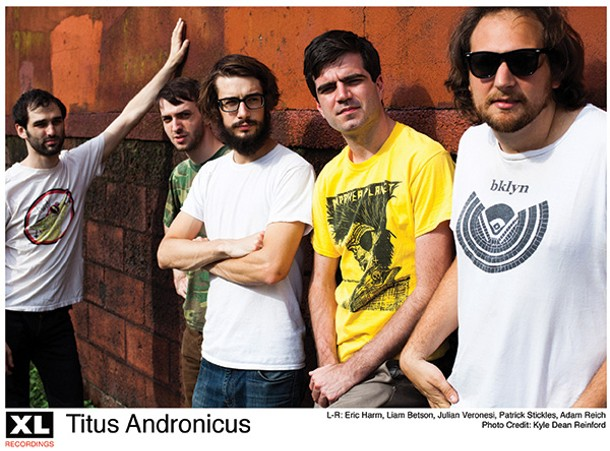 Titus Andronicus plays BSP Lounge in Kingston  on June 11