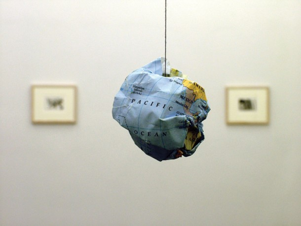 Tom Molloy, Globe, 2004. Image courtesy of  Tom Molloy and Rubicon Gallery, Dublin.