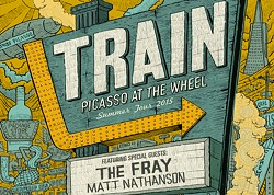 PROVIDED BY BETHEL WOODS CENTER FOR THE ARTS - Train featuring special guests The Fray & Matt Nathanson