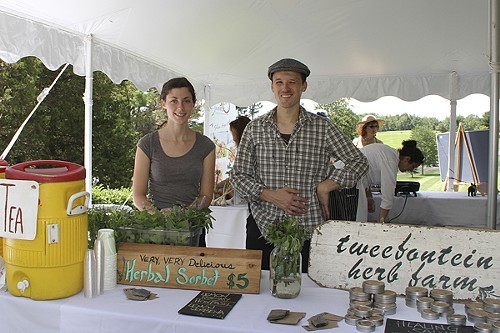 Tweefontein Herb Farm at the 2011 Hudson Valley Food Lovers Festival