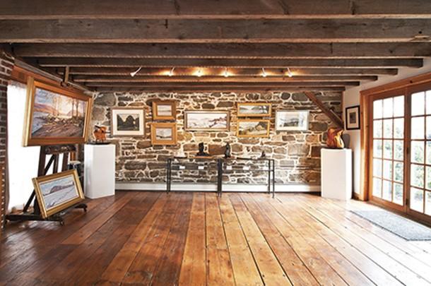The gallery space at Carriage House Art Studios in New Windsor - DEBORAH DEGRAFFENREID
