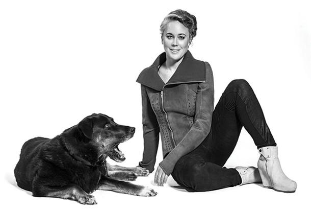 Anne Eschenroeder and her dog Rosir. - RACHEL BRENNEKE