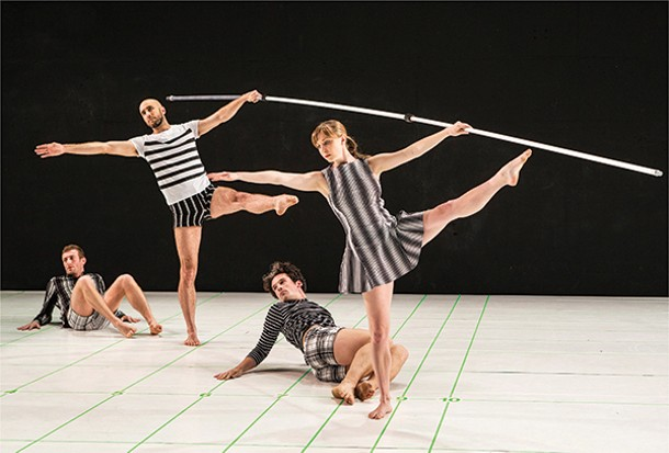 """Within between,"" choreographed by John Jasperse and dancers - YI-CHUN WU"