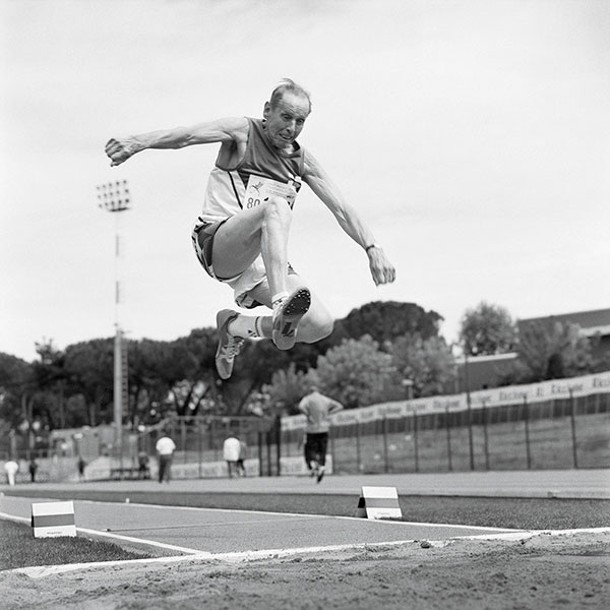 Long Jumper, 80-84 Division, World Masters, Riccione, Italy. - ANGELA JIMENEZ