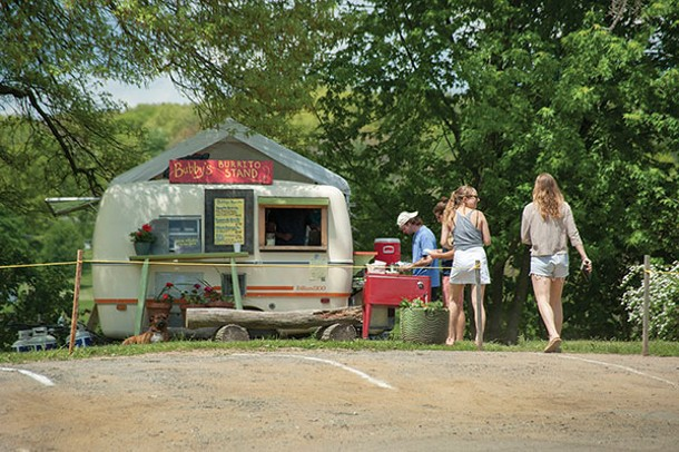 Bubby's Burrito Stand in Red Hook on Route 199. - ROY GUMPEL