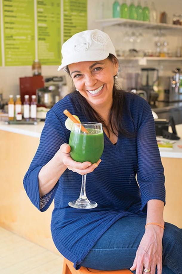 Margarita Carreras at Get Juiced in Red Hook - ROY GUMPEL