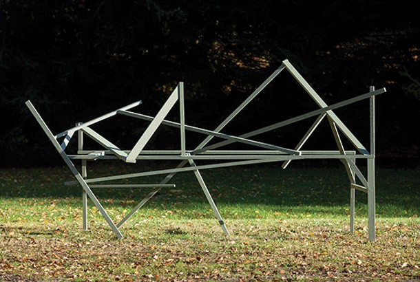 Willard Boepple's sculptures will be exhibited in the Sculpture Garden and the ground floor of the Carriage House. - WILLARD BOEPPLE