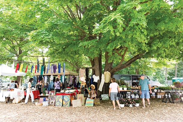 Mower's Flea Market in Woodstock - EVA DEITCH