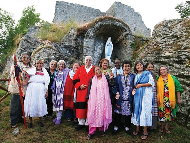 International Council of 13 Indigenous Grandmothers in Assisi, Italy. - MARISOL VILLANUEVA