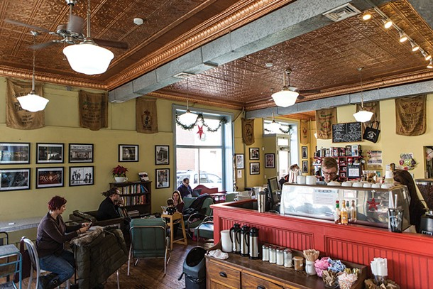 "The Peekskill Coffee House is known as ""Peekskill's living room."" - PAMELA ASHLEY PASCO"