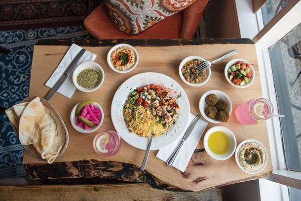 Chicken Kebab and Futur from Ziatun in Beacon - CHRISTINE ASHBURN