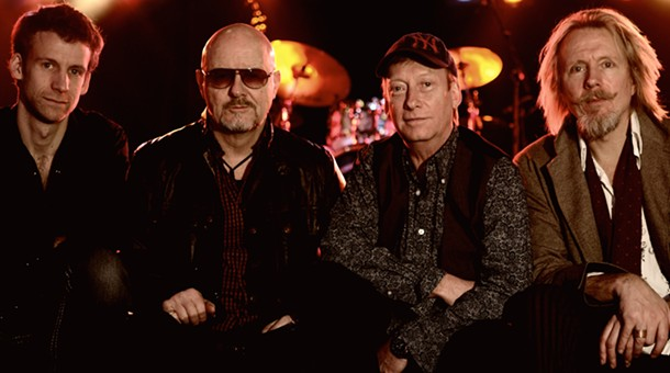 Wishbone Ash plays Daryl's House on September 29.