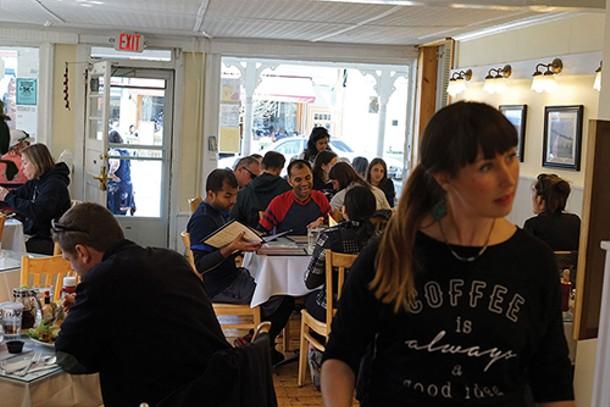 Nicole Jones at Hudson Hil's Cafe and Market - JOHN GARAY
