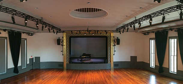 The renovated Hudson Hall (formerly Hudson Opera House) kicks off its grand reopening with a series of classical music concerts this month.
