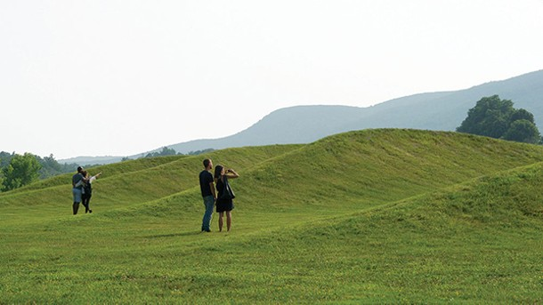 "Maya Lin's ""Wavefield"" at Storm King - JERRY L. THOMPSON"