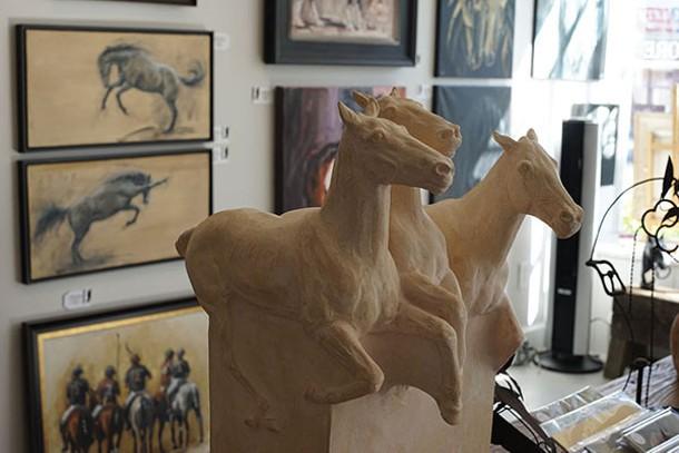 Equis Art Gallery in Red Hook - JOHN GARAY