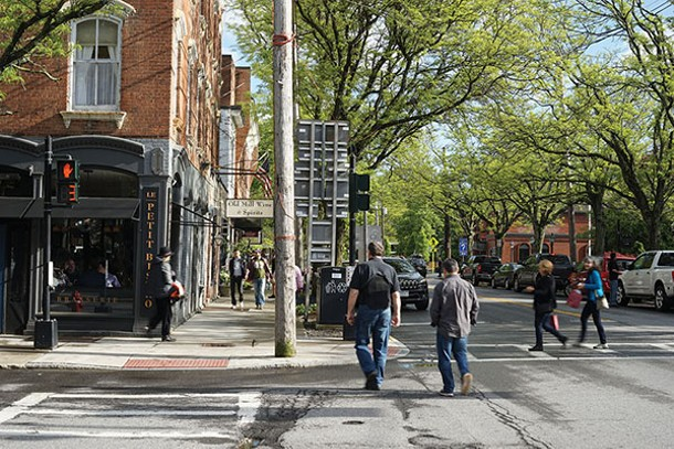 The intersection of Market Street and Montgomery Street - JOHN GARAY